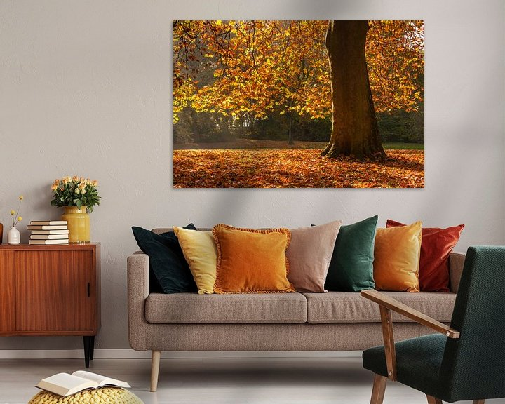 Sfeerimpressie: Herfst in Rotterdam van Ilya Korzelius