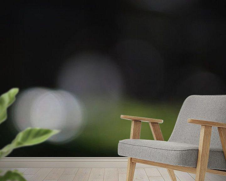 Sfeerimpressie behang: paddestoel in het  bos van Jovas Fotografie