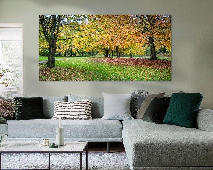 Beispiel: Herfstpanorama (2) von Rob IJsselstein