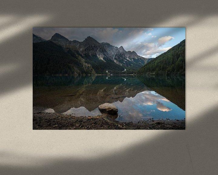 Sfeerimpressie: Bergmeer in de Dolomieten van Wim Slootweg