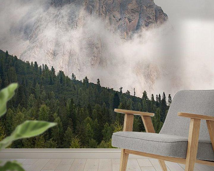 Sfeerimpressie behang: Bergtop van Wim Slootweg