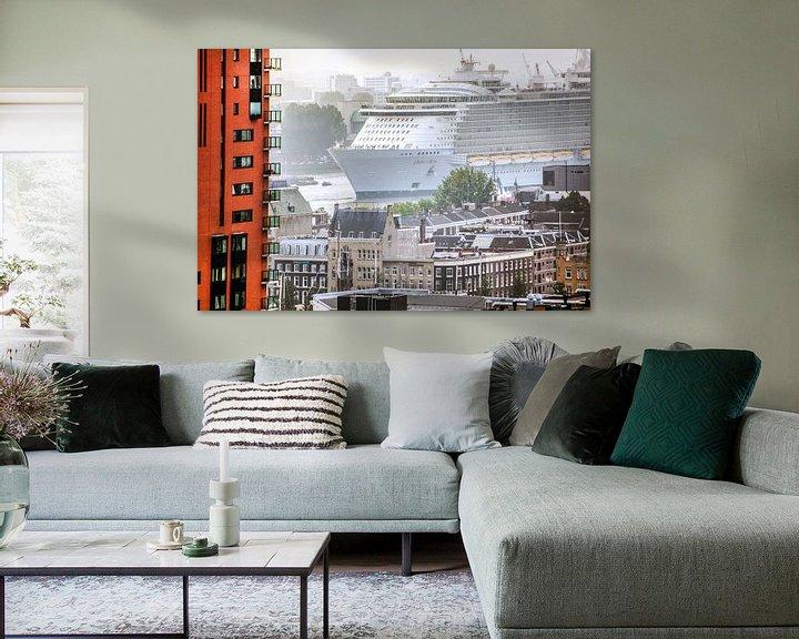 Sfeerimpressie: Rotterdam schip oasis of the seas van Alain Ulmer