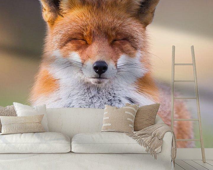 Sfeerimpressie behang: Relaxed van Pim Leijen