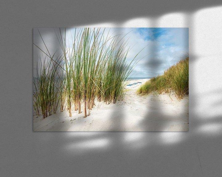 Sfeerimpressie: Strandszene van Hannes Cmarits