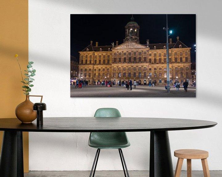 Sfeerimpressie: Paleis op de Dam in Amsterdam van Brian Morgan