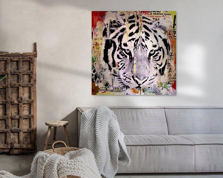 Sfeerimpressie: Tigerstyle no2 van Michiel Folkers