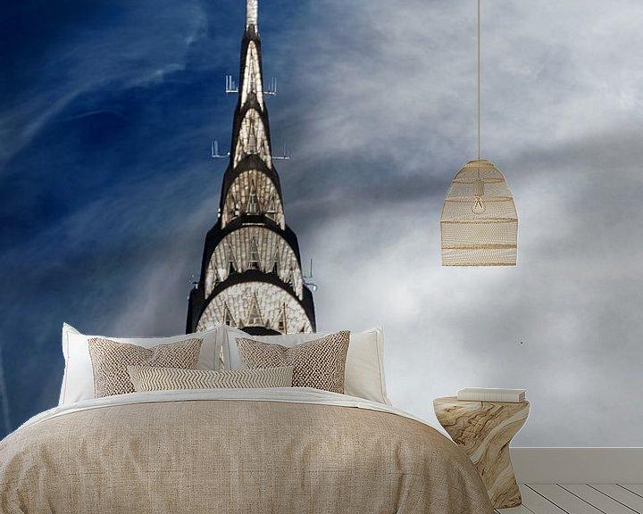 Sfeerimpressie behang: Chrysler Building van Kurt Krause
