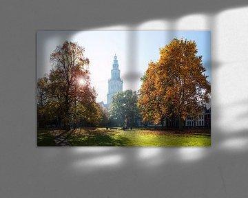 Martiniturm im Herbst sur Frenk Volt
