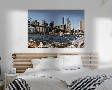 New York Brooklyn Bridge von Kurt Krause