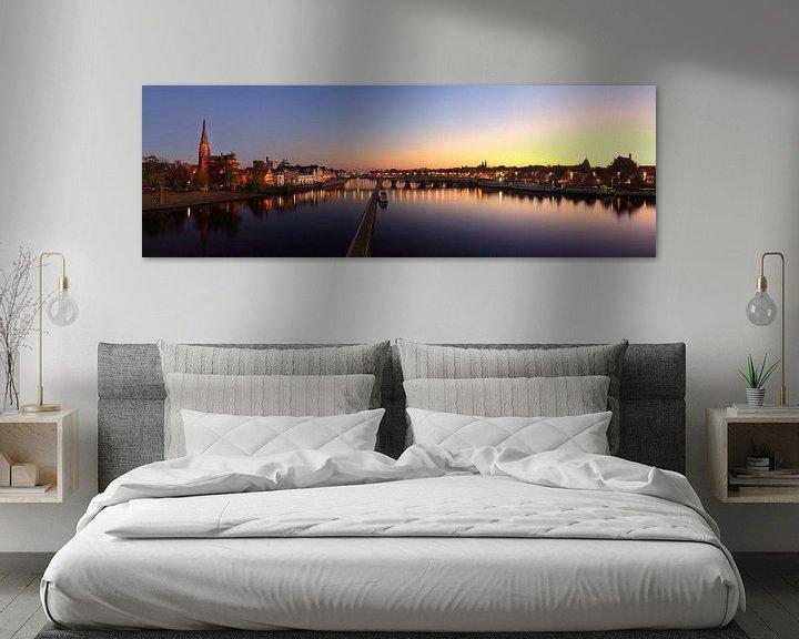 Sfeerimpressie: Skyline Maastricht van Pascal Lemlijn