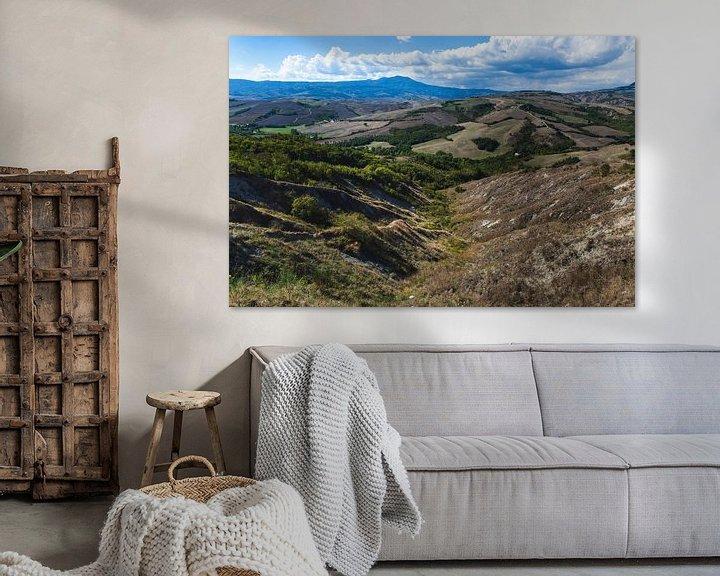 Impression: De heuvels van Toscane sur Steven Dijkshoorn