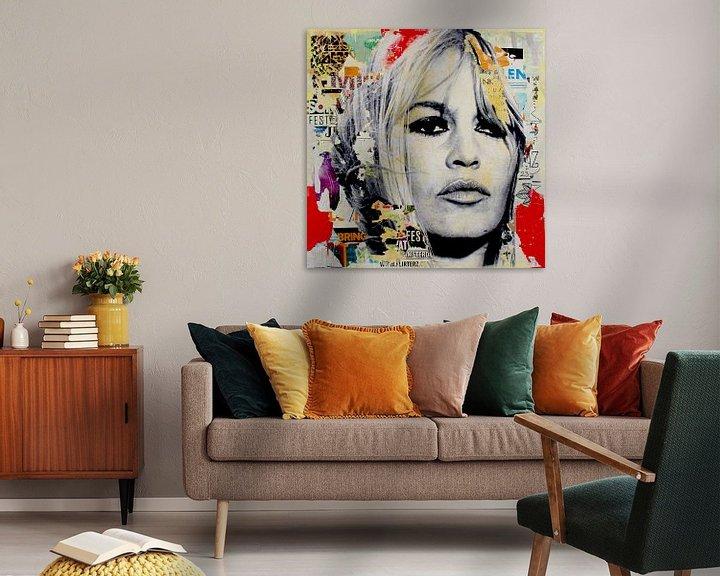 Beispiel: Brigitte Bardot von Michiel Folkers
