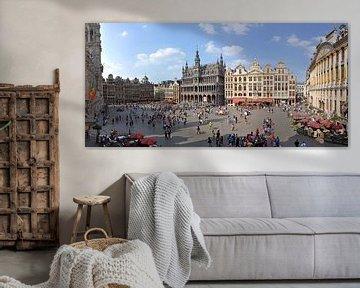 De Grote Markt van Brussel van Jean Pierre De Neef
