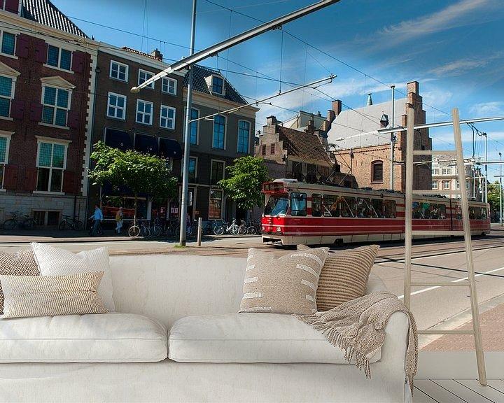 Sfeerimpressie behang: Den Haag van Brian Morgan