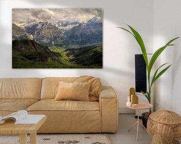 Grindelwald vallei van Dennis van de Water