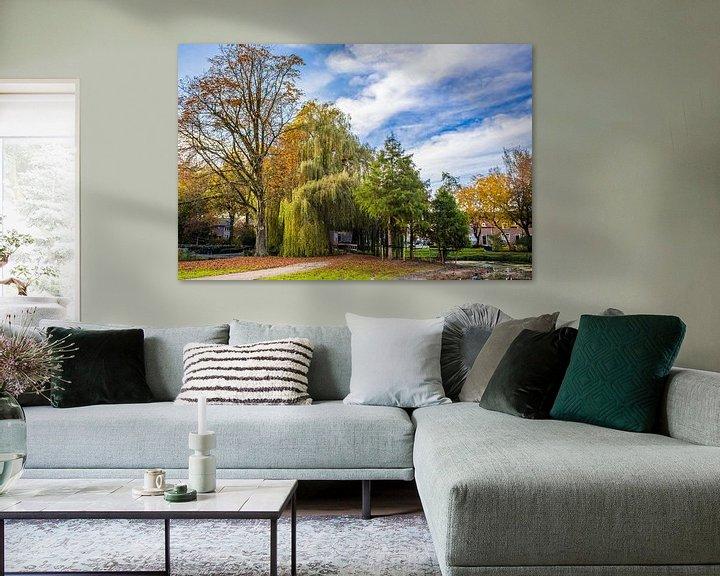 Sfeerimpressie: Park van Thomas van der Willik
