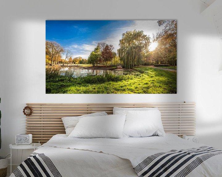 Sfeerimpressie: Koningspark in Herfstkleuren van Thomas van der Willik