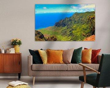 Kalalau Vallei, Hawaii van GoWildGoNaturepictures