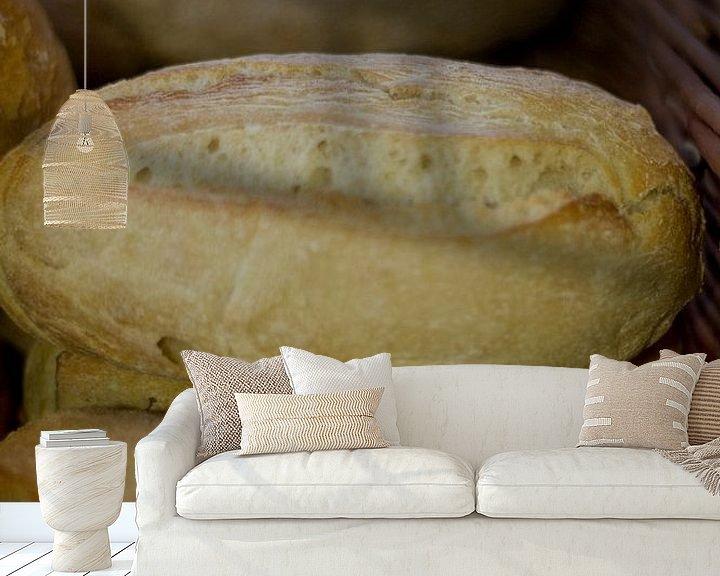 Sfeerimpressie behang: Brood van PJG Design