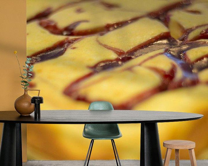 Sfeerimpressie behang: Cheesecake van PJG Design