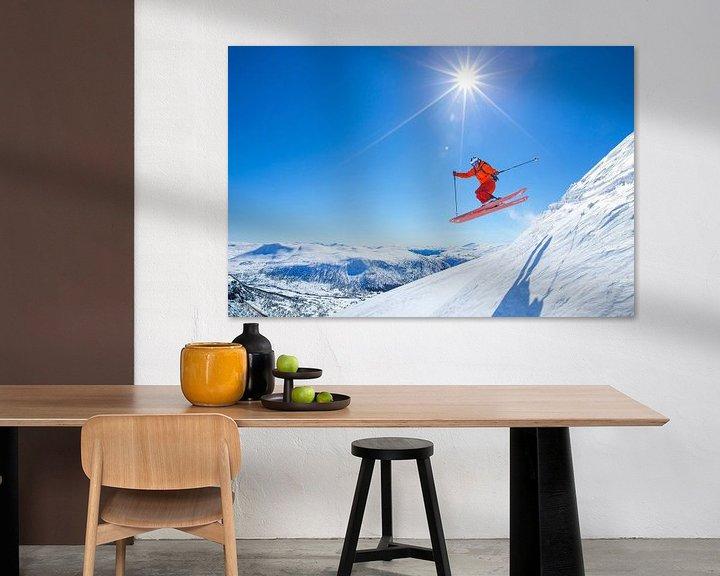 Impression: Freestyle Myrkdalen Norvège sur Menno Boermans