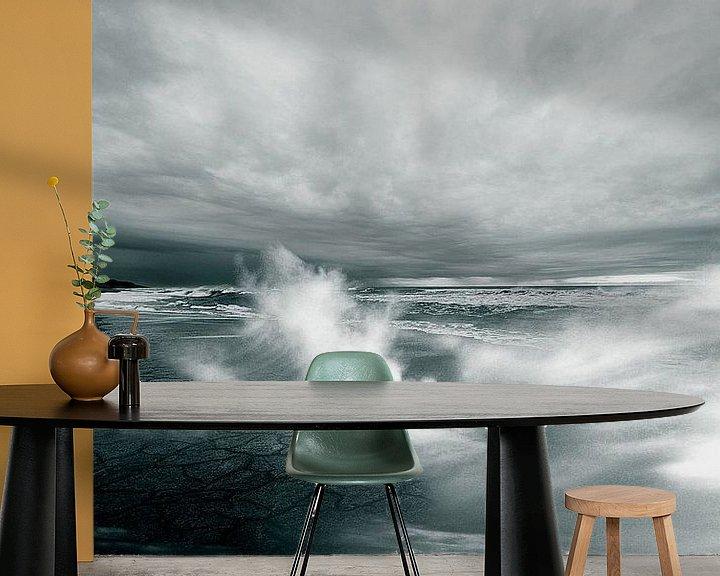 Sfeerimpressie behang: Oceaan van Didden Art