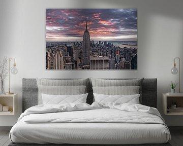 Manhattan Abendhimmel sur Joachim G. Pinkawa