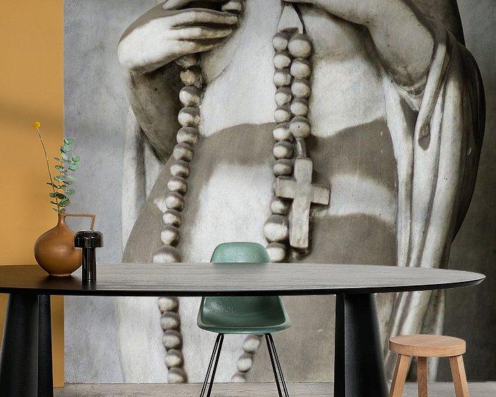 Sfeerimpressie behang: Zware ketting van Karen Havenaar