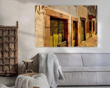 Green Doors / Portugal von Sabrina Varao Carreiro