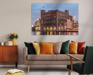 Droste fabriek, Haarlem van Photo Wall Decoration