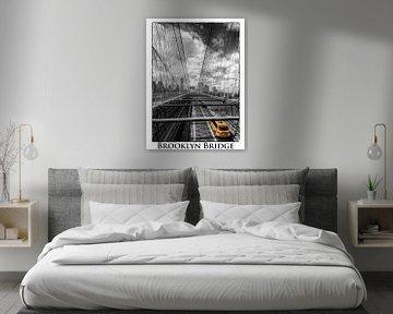 Brooklyn Bridge New York von Carina Buchspies