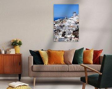 Santorini / Oia / Griekenland van Sabrina Varao Carreiro