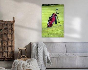Golftasche von Norbert Sülzner