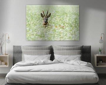 Verstopt in de bloemmetjes van Ina Hendriks-Schaafsma