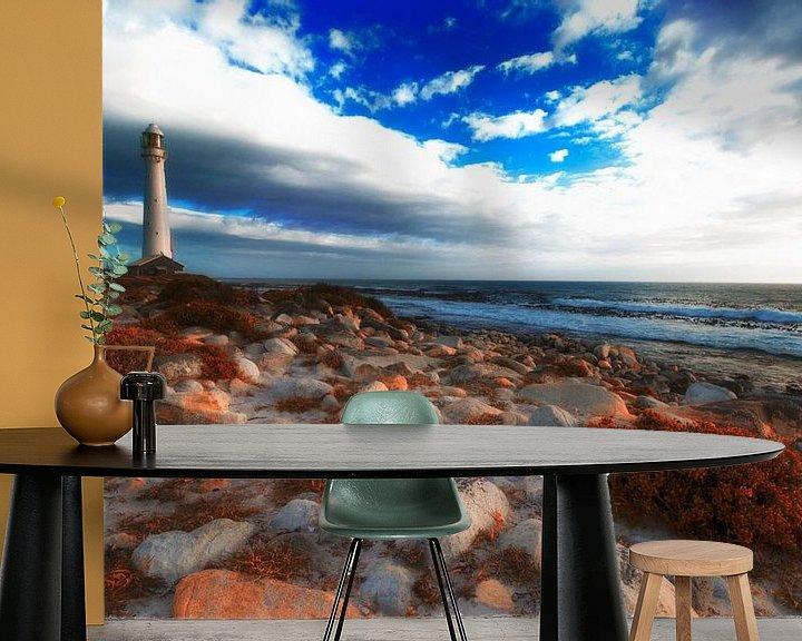 Sfeerimpressie behang: Baken aan de kust van Heleen van de Ven
