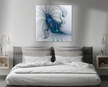 Ein blaues Wesen von gabiw Art