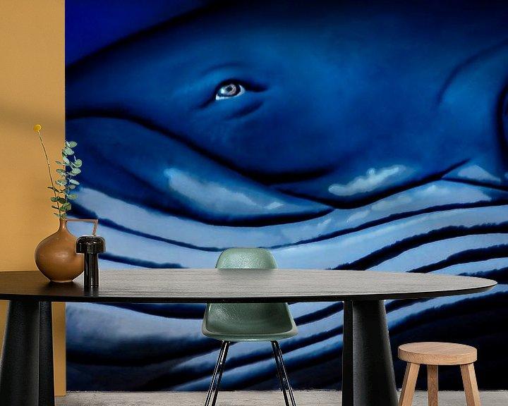 Beispiel fototapete: Blauer Ozeanriese von Joachim G. Pinkawa