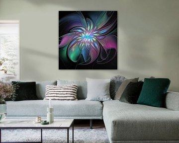 Farbenfrohe Abstraktion von gabiw Art
