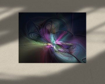 Abstract Fractal Art van gabiw Art