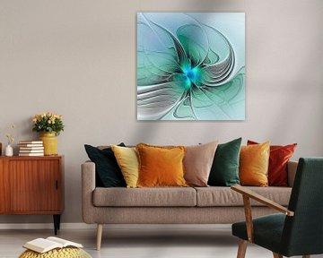 Abstrakt mit Blau von gabiw Art