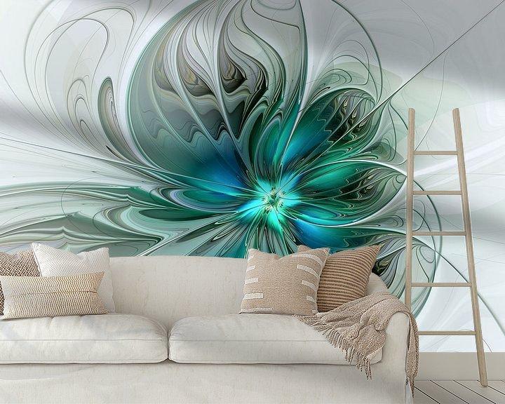 Beispiel fototapete: Abstrakt mit Blau 2 von gabiw Art