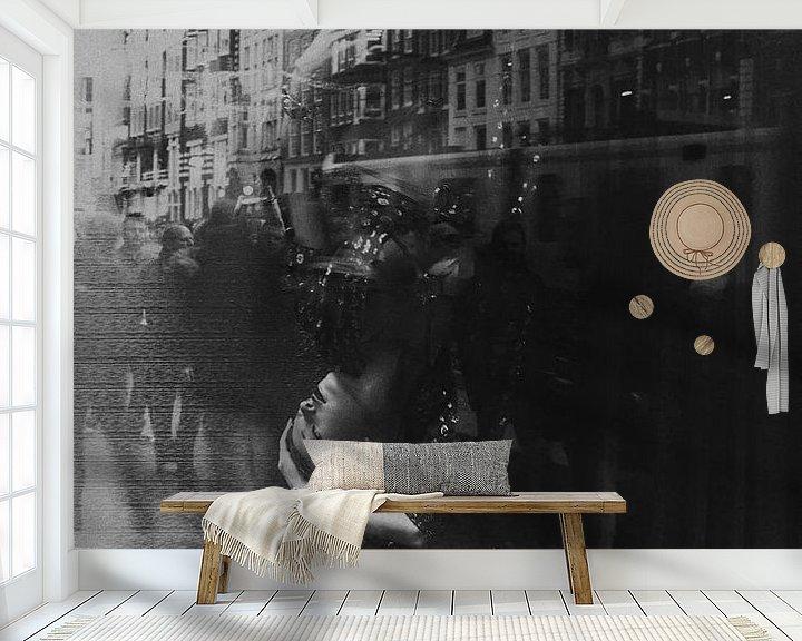Sfeerimpressie behang: Only in Amsterdam van Leanne lovink