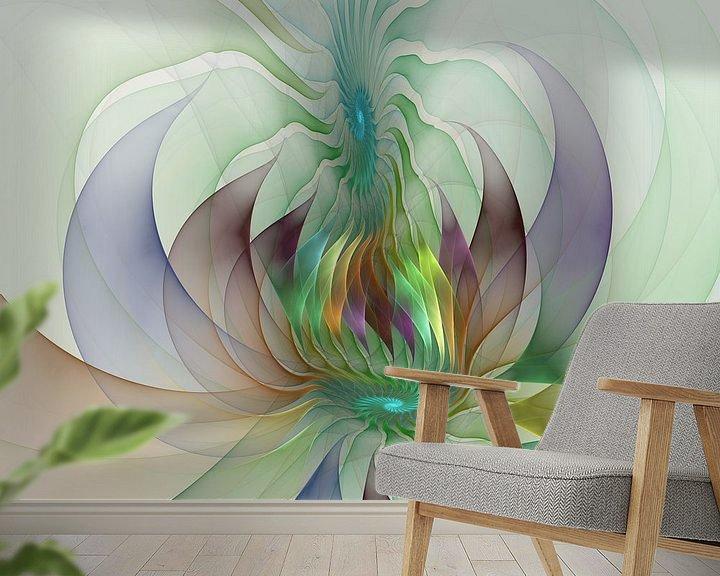 Beispiel fototapete: Fraktal Formen der Fantasie von gabiw Art
