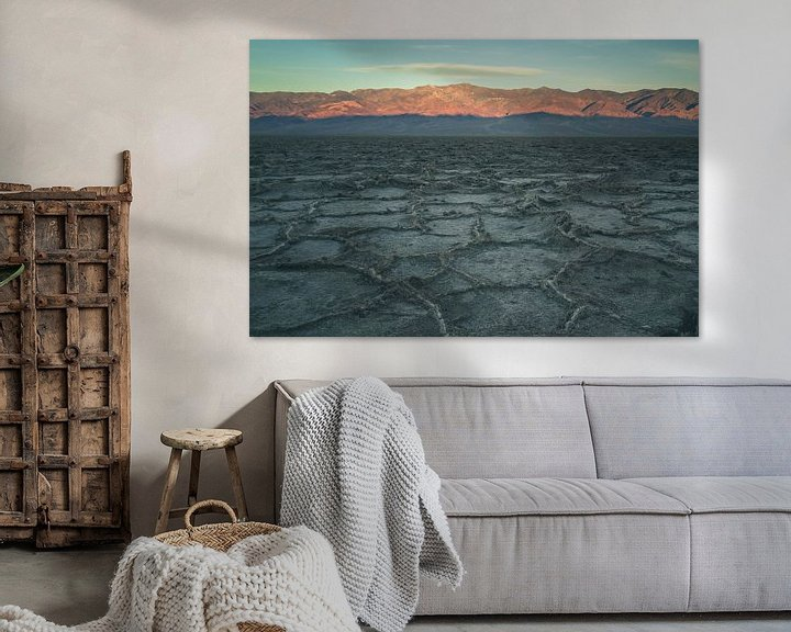 Impression: Badwater Basin at sunrise sur Jasper van der Meij