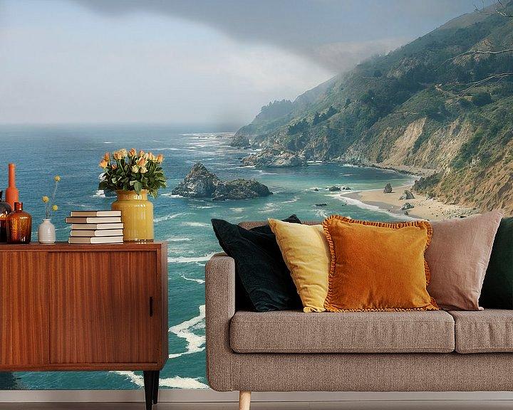 Beispiel fototapete: Big Sur Kalifornien von Jasper van der Meij