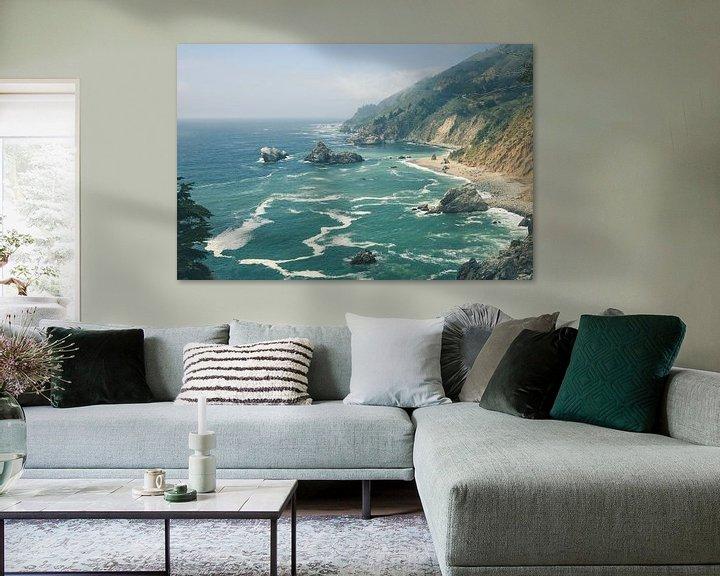 Beispiel: Big Sur Kalifornien von Jasper van der Meij