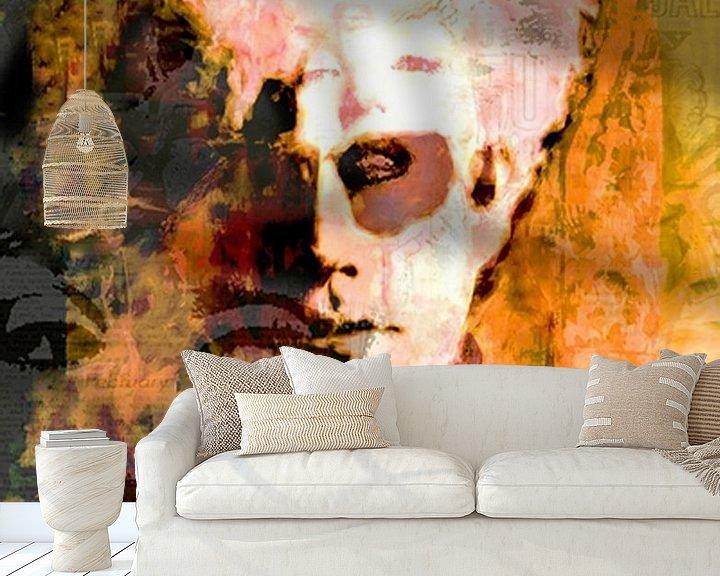 Beispiel fototapete: Andy Mix Andy Warhol Andy Warhol Pop Art von Leah Devora