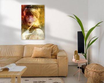 Titanic Hollywood Star Icon Titanic Pop Art van Leah Devora