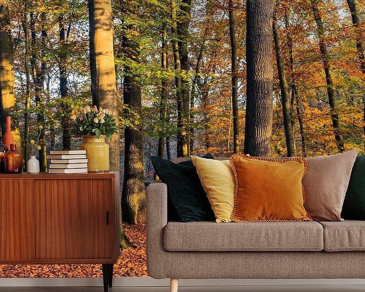 Sfeerimpressie behang: Autumn Light van William Mevissen