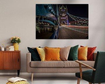 Towerbridge Londen van Walther Siksma